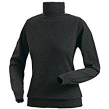 Royal Spencer Damen Rollkragen-Pullover aus Kaschmir-Seide, Kaschmir-Pullover in Anthrazit, kuscheliger Winterpullover, feines Naturprodukt , Gr: S - XL
