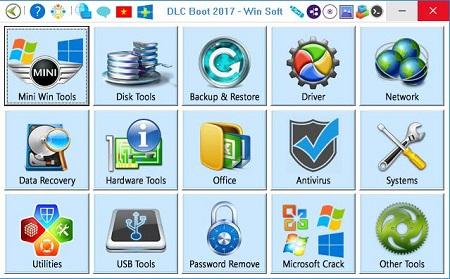 DLC BOOT 2017 V.3.4 แผ่นรวมโปรแกรมสำหรับช่างคอมล่าสุดโหลดฟรี