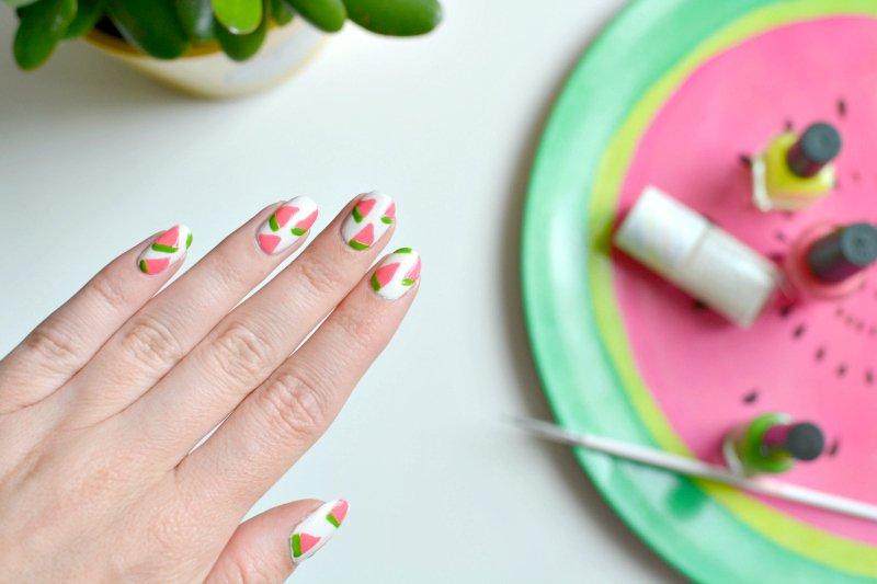 Nails Watermelon Nail Art Burkatron