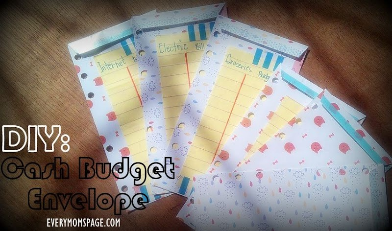 #DIY Cash Budget Envelopes