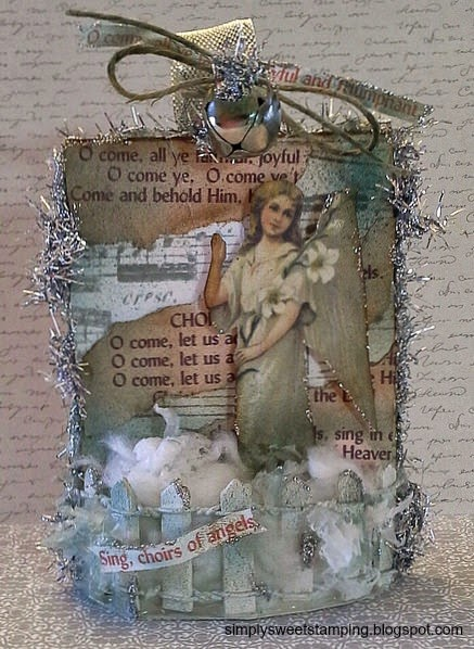 .: TBT Christmas Ornament ATC