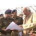 कानपुर - प्रधानमंत्री मोदी के रैली स्थल का जायजा लेने पहुंचे आईजी