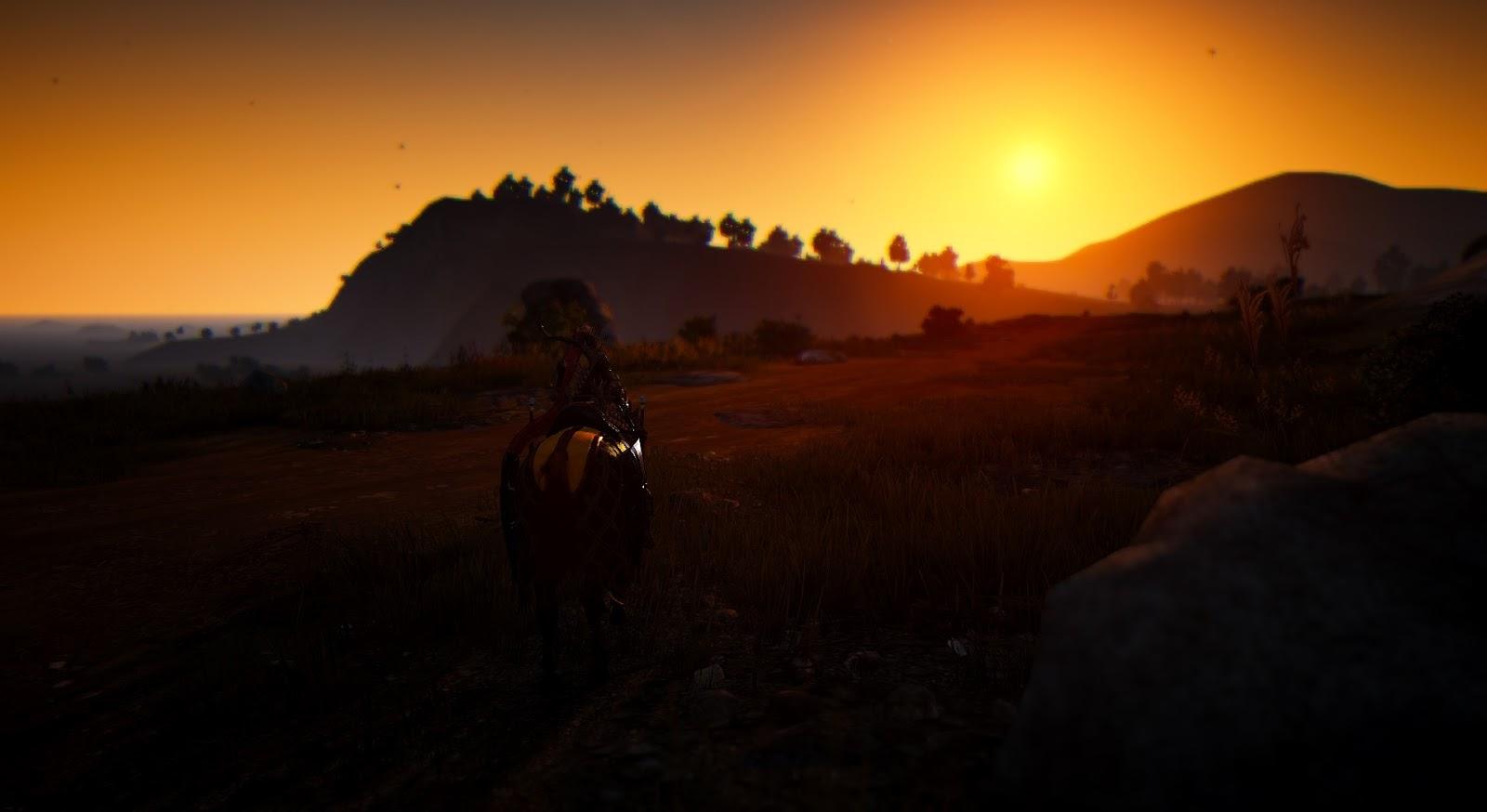 Black Desert Online Tips: Amazing Sunset