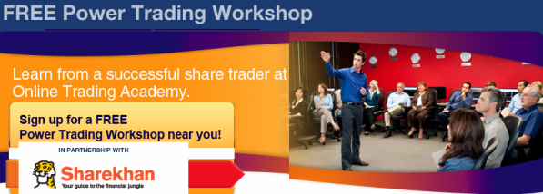 Free Power Trading Workshop at The Online Trading Academy Mumbai In partnership With Sharekhan