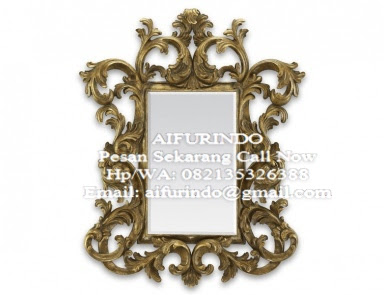 Classic Mirror Furniture Indonesia,Classic french Style mirror gold leaf,interior classic furniture