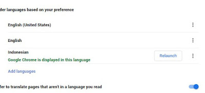 Merubah Bahasa