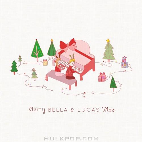 BELLA & LUCAS – MERRY BELLA & LUCAS MAS – Single