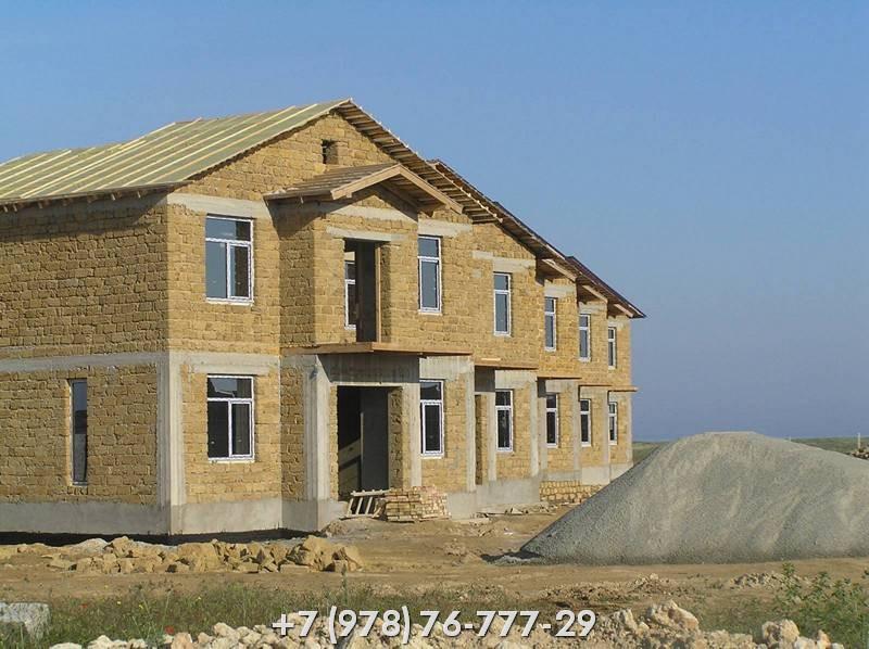 Строительство домов из ракушки Севастополь