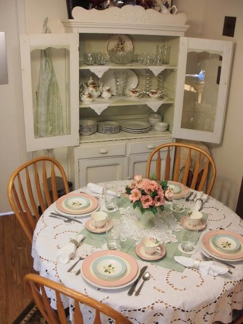 China cabinet at our house