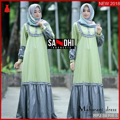 RPJ204D187 Model Dress Maharani Cantik Dress Wanita