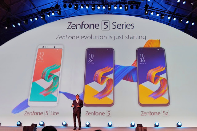 Perkenalan ZenFone 5 di Mobile World Congress 2018, Barcelona