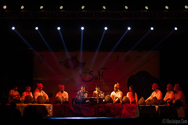 Nathu Lal Ji and group SAARC Jaipur Sufi Festival