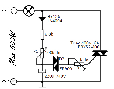 Super Flashing Light Uses Triacs Electronic Circuit Wiring Cloud Philuggs Outletorg