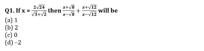 Algebra Questions for SSC CGL TIER-2 , SSC Stenographer & IB (ACIO) 2017_50.1