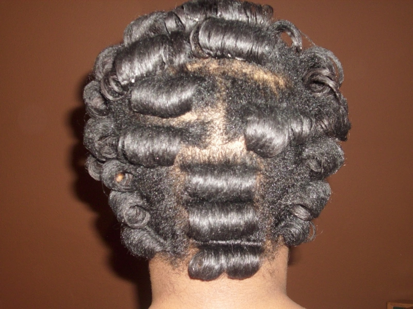 Black Hair Roller Set Styles: My Natural Hair Journey: Roller Set 11-20-11