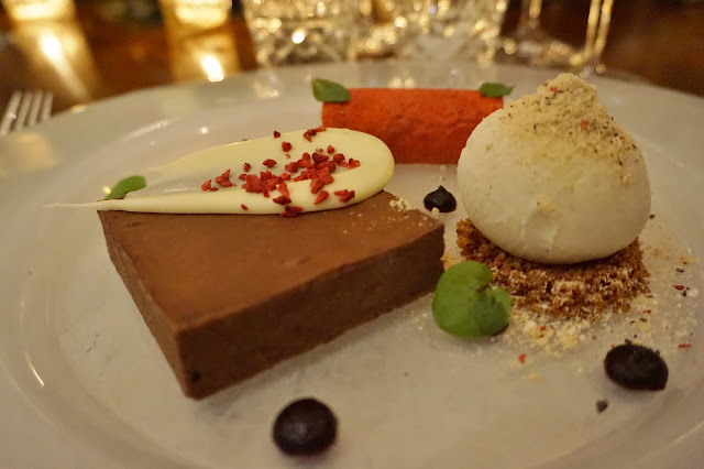 Dine Venues The Mansion Leeds trio of desserts
