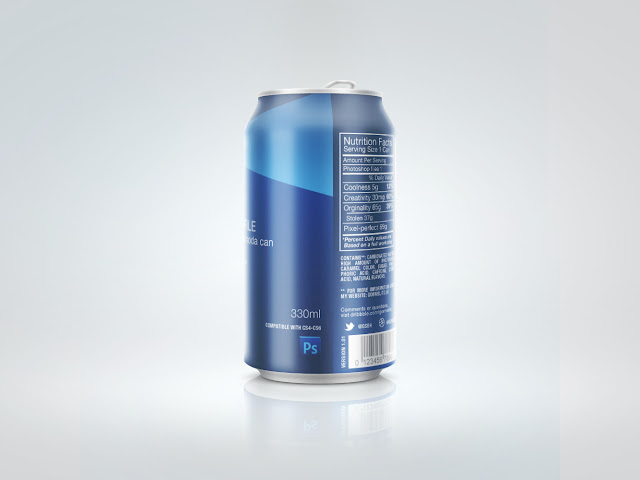 mock up Soda_Can موك اب
