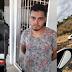 Ladrão furta joias de loja, é flagrado por câmeras e acaba preso depois de capotar veículo, em Princesa Isabel