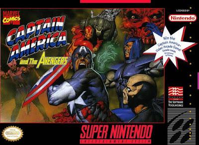 Rom de Captain America and The Avengers em PT-BR