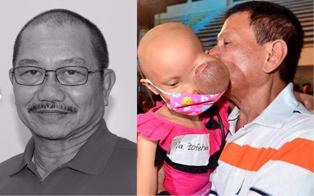 LOOK: Manny Piñol shares soft side of President Duterte: He truly cares for Cancer-stricken children