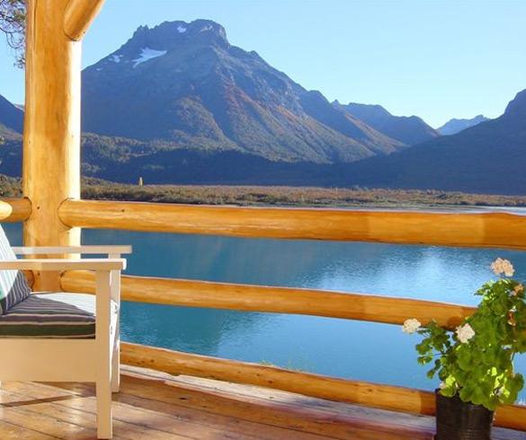 Estrutura do Lago Mascardi em Bariloche