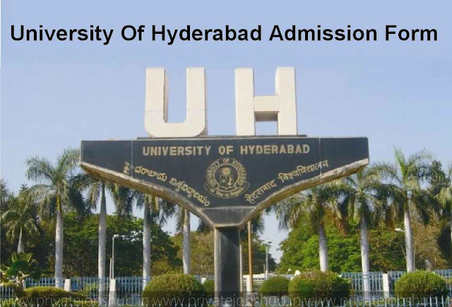 University Of Hyderabad Admission Form