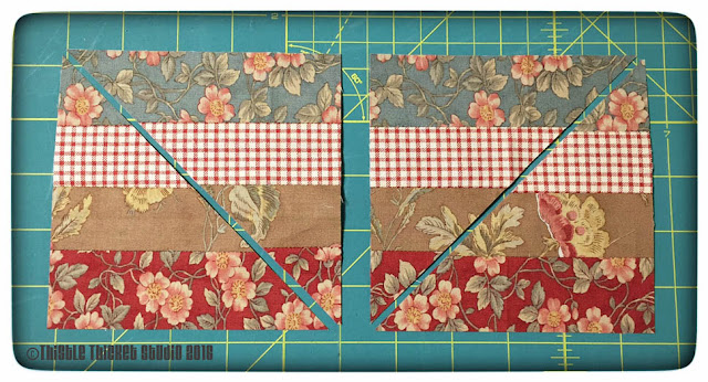 Rail Fence Ribbon Border Tutorial by Thistle Thicket Studio. www.thistlethicketstudio.com