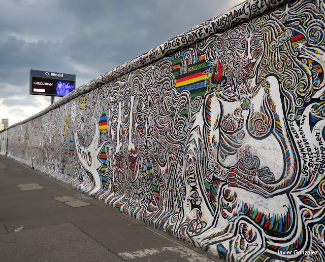 Muro de Berlín. Berlin wall. East Side Gallery