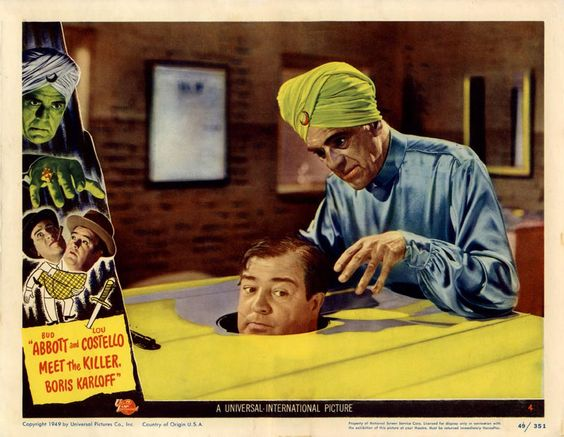 abbott and costello meet the killer 1949 cadillac