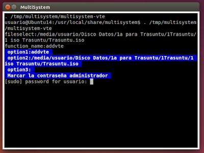 MultiSystem función
