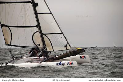 l'Eurocat, grande fête du catamaran de sport, aura lieu à Carnac du 28 au 30 avril 2018