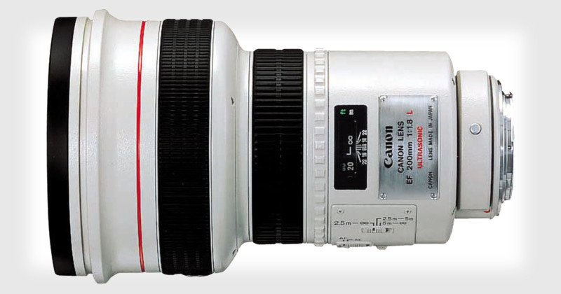 Canon EF 200mm f/1.8L