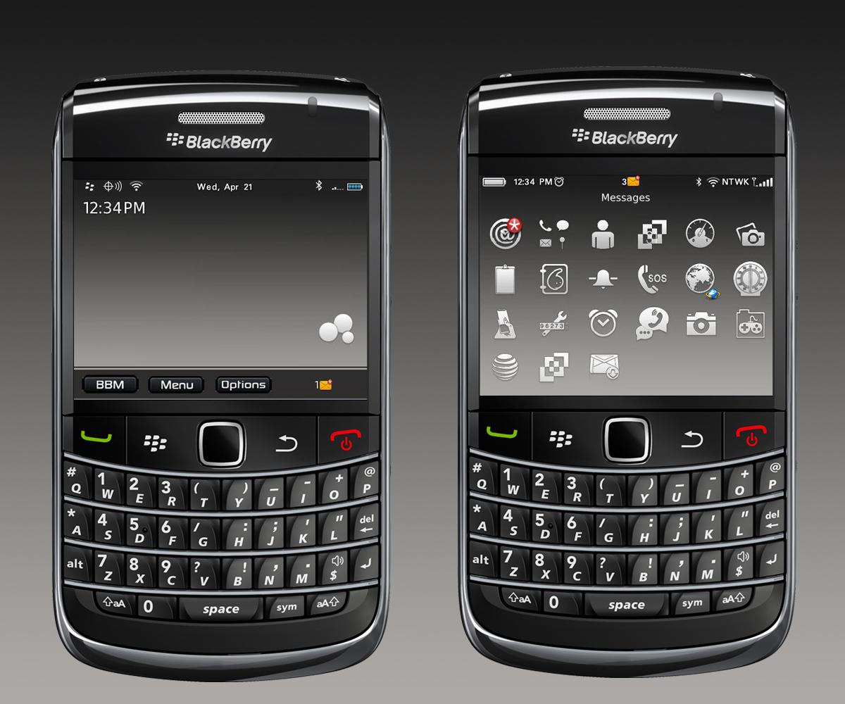 Blackberry Bold 9700 GUI PSD V2 ~ Best UI PSD