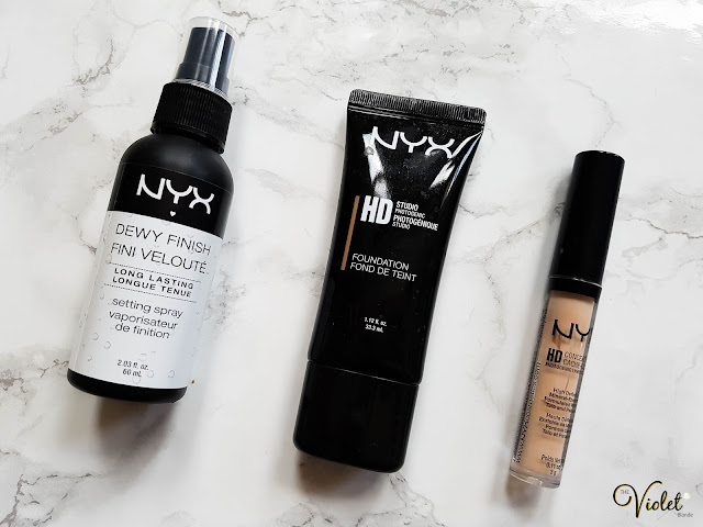 NYX face products