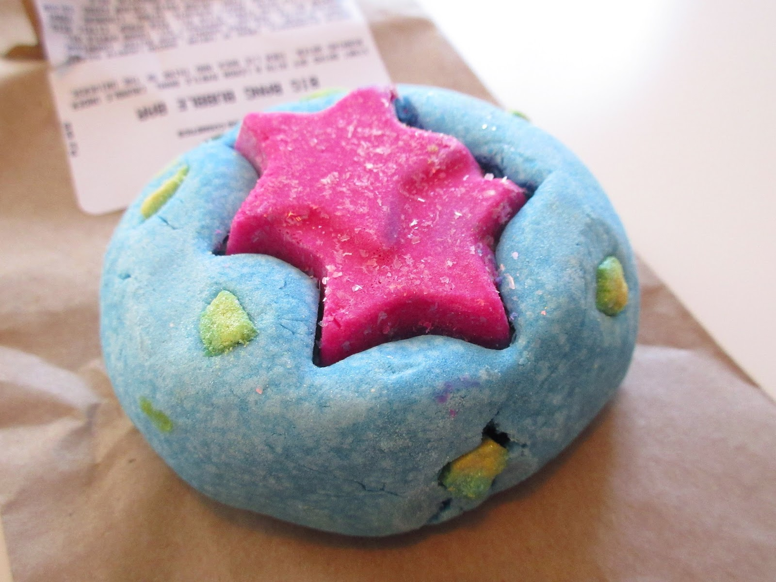Lush Big Bang Bubble Bar Review