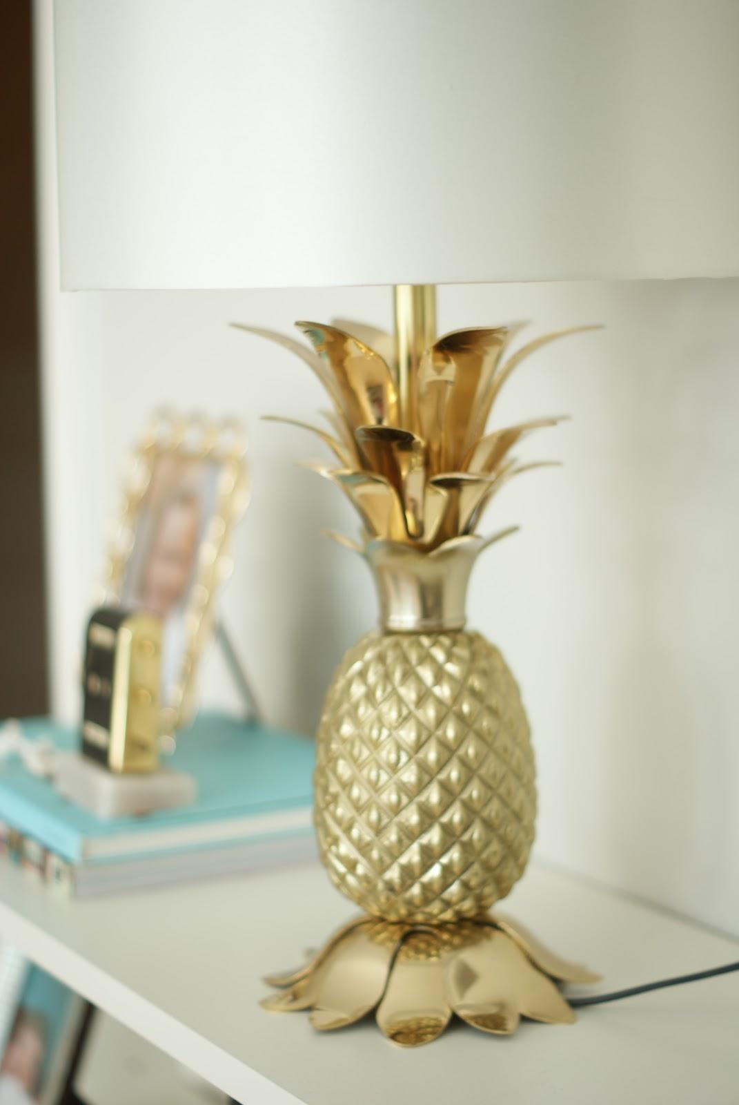 ninasdeco ananas lampe. Black Bedroom Furniture Sets. Home Design Ideas