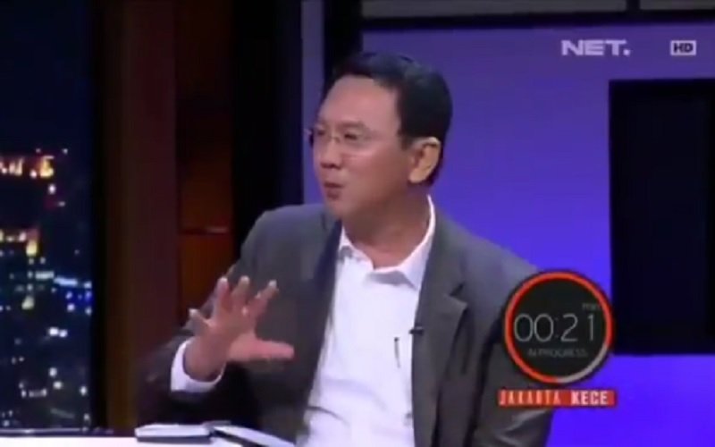 Video Ahok air tinja