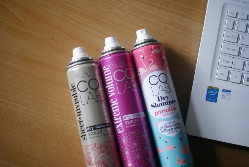 Suche szampony Colab. Najlepsze!