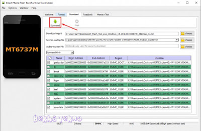 Tutorial Terbaru Cara Flashing Asus Zenfone 3 Max X008D (ZC520TL) Ram 2GB Via SP-Flashtool Dijamin Work 100%