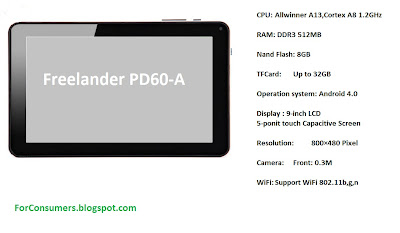 Freelander PD60-A tablet review