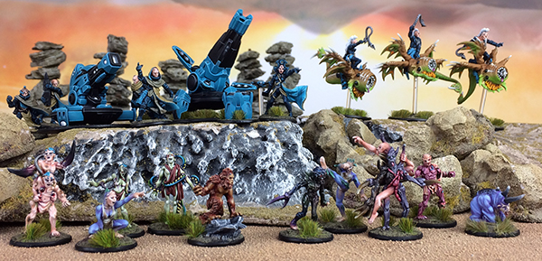Warlord Games: New Beyond The Gates of Antares Freeborn Mutants, Troopers and More