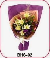 Bunga Tangan Lily