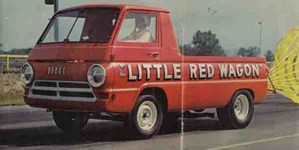 """Little Red Wagon"" Dodge A110 Maverick"