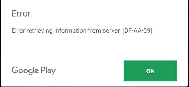 Cara memperbaiki Google Play Store error 8 pada Samsung Galaxy J3