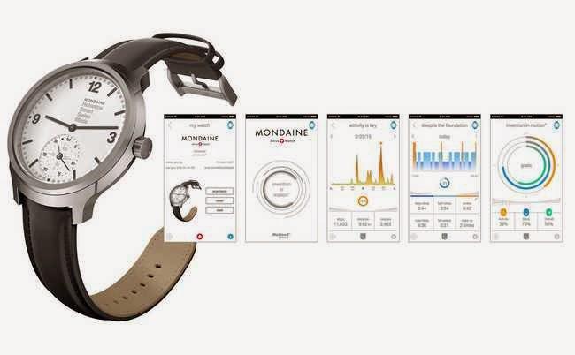Die digitale Technik der Smartwatch versteckt sich unter dem analogen Zifferblatt