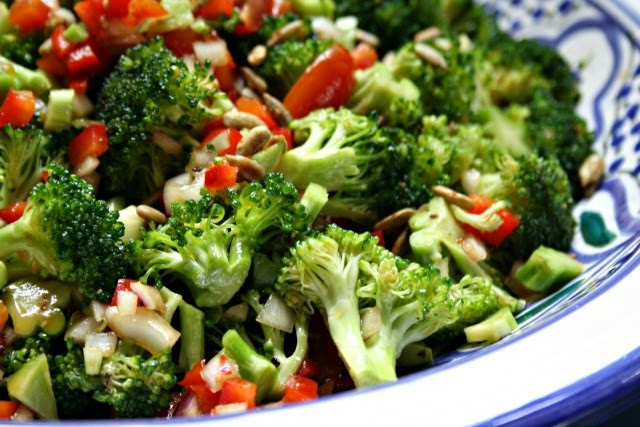 marinated broccoli salad