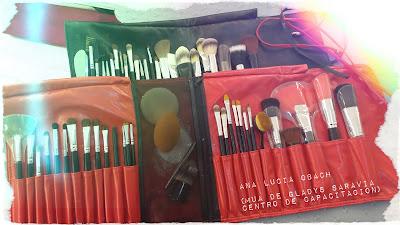 Brochero de Ana Lucía Obach (MUA de Gladys Saravia Centro de Capacitación)