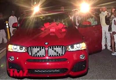 BMW X4 presente rapper Lil Wayne de sua filha