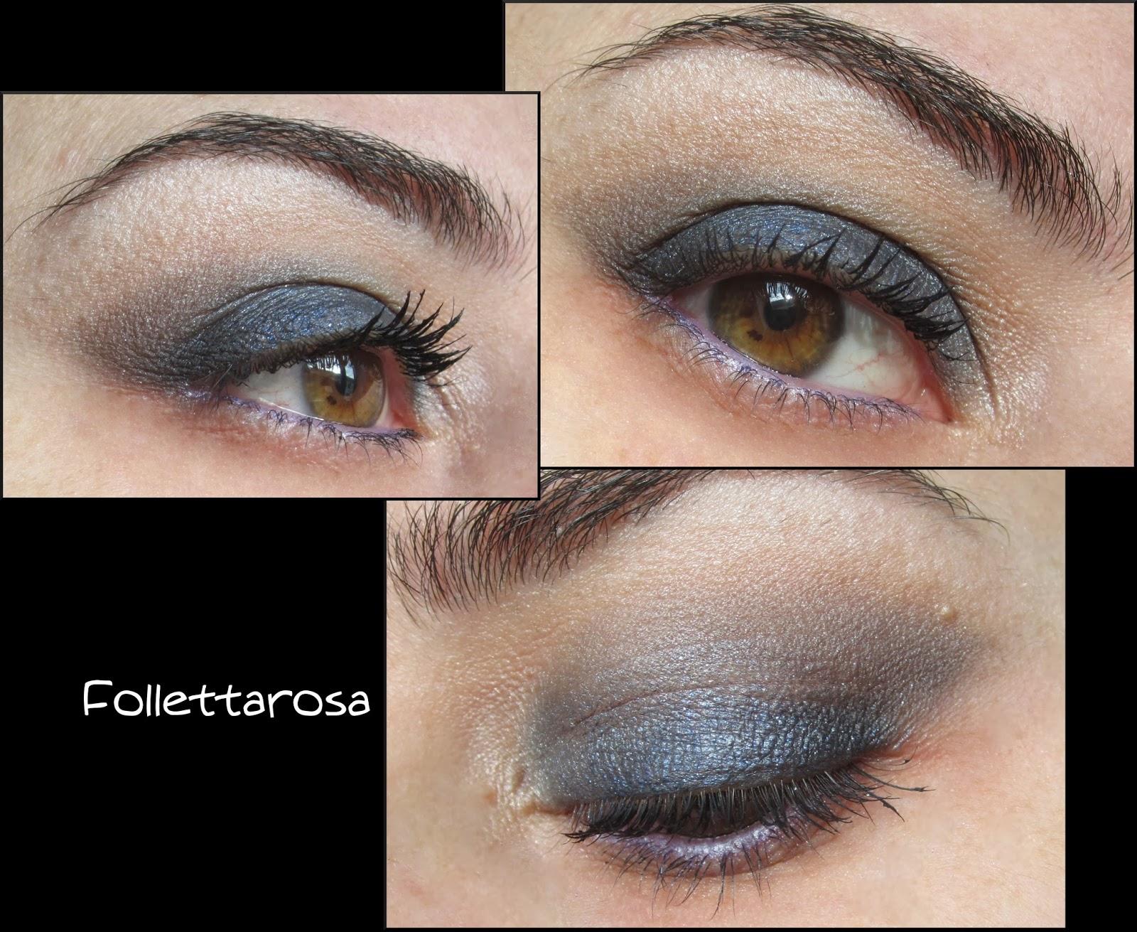 smokey eyes blu