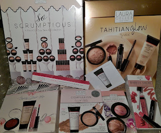 Laura Geller HAUL So Scrumptious Tahitian Bronze Berry Glow Mini's That Move Eye Rimz Barely There Highlighter Primadonna